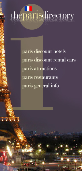 The Paris Directory - online tourist info, hotel and rental car reservations